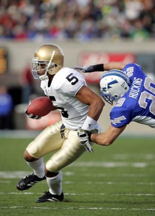 Image: Notre Dame receiver Rhema McKnight