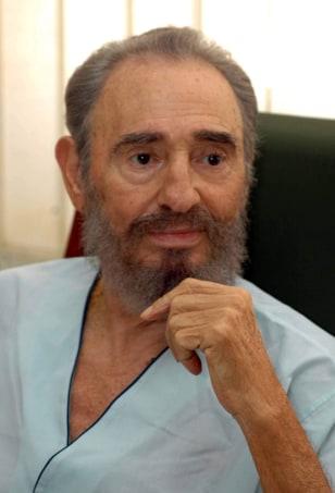 IMAGE: Cuban leader Fidel Castro