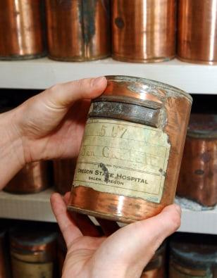 IMAGE: Unclaimed urn
