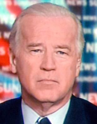 "Image: Biden on ""Fox News Sunday"""