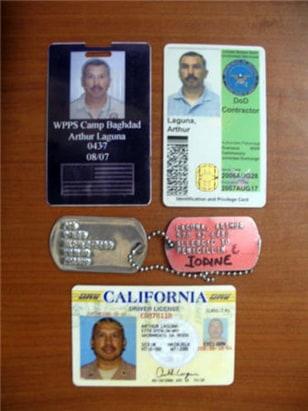Image: ID badges