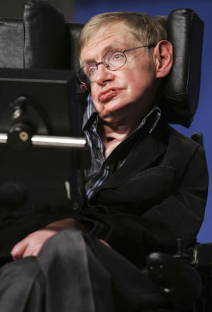 Image: Stephen Hawking in Jerusalem