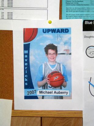 IMAGE: Poster of Michael Auberry
