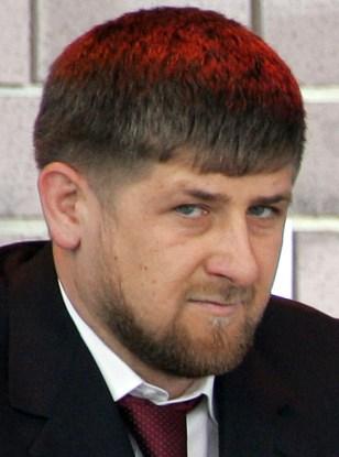 President Ramzan Kadyrov attends a cerem