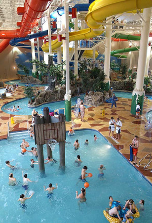 Image: Indoor water park