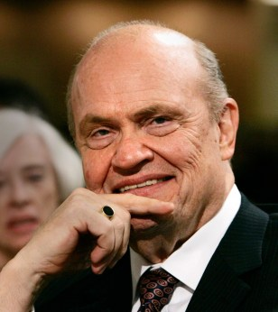Former U.S. Senator and actor Fred Thompson