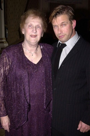 Stephen Baldwin And Mother At Gilda's Club Comedy Gala