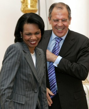 Condoleezza Rice, Sergey Lavrov