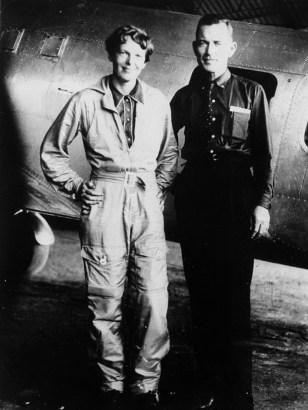 Image: Amelia Earhart, Fred Noonan