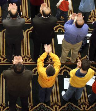 IMAGE: American Muslims Celebrate Eid al-Fitr
