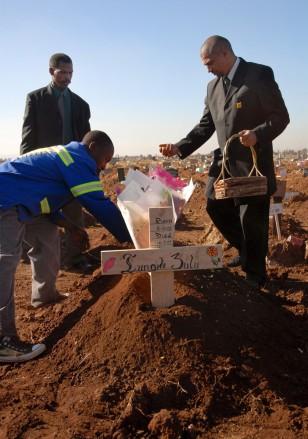Image: Grave of Lungile Zulu