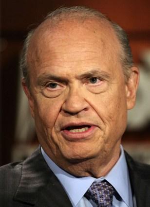 IMAGE: Former Sen. Fred Thompson, R-Tenn.