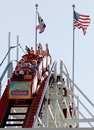 Image: Roller coaster