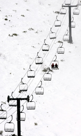 IMAGE: Ski lift in California