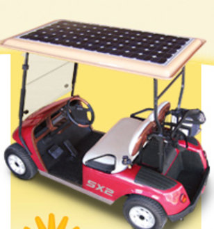IMAGE: Solar powered cart