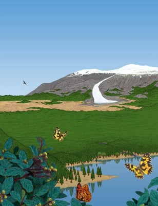 Image: Reconstruction of ancient Greenland