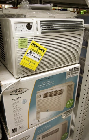 In-window air conditioners for sale
