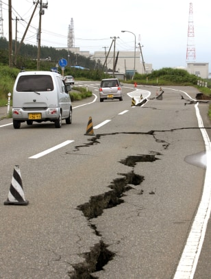 Image: Damage from Japan earthquake
