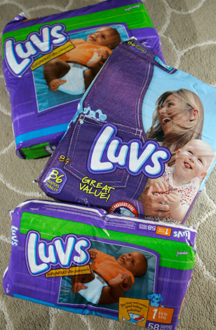 Image: Luvs diapers