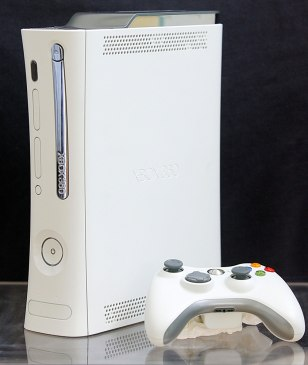 (FILES) An Xbox 360, Microsoft's new gam