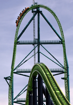 Image: White-knuckle ride