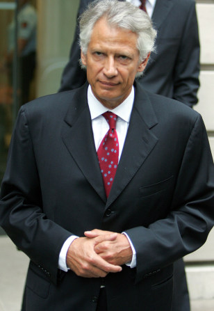 IMAGE: Dominique de Villepin