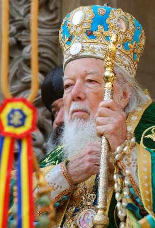 Image: Romanian Orthodox Patriarch Teoctist