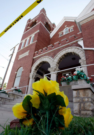 IMAGE: Site of Mo. church shooting