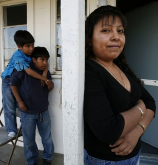 Image: Undocumented immigrant with sons