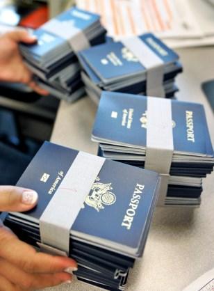 Image: Passports