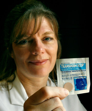 Image: Dr. Maura Furey, motion sickness patch