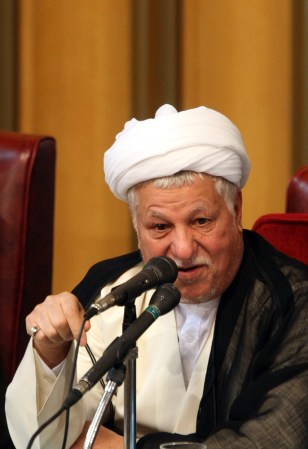 Image: Former Iranian President Akbar Hashemi Rafsanjani.