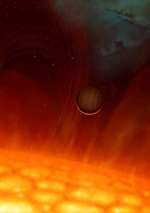 Image: Red giant illustration