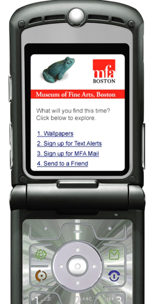 Museum of Fine Arts, Boston Launches New Mobile Initiative