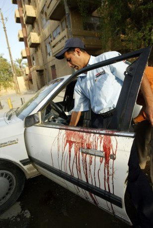 Image: Iraq shooting
