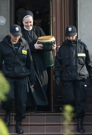 Image: Polish police, ex-nun