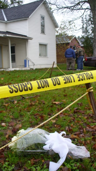 IMAGE: HOUSE WHERE SHOOTING HAPPENED