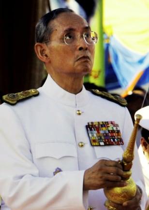 Image: King Bhumibol Adulyadej