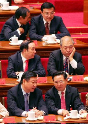 Images: Chinese politicians