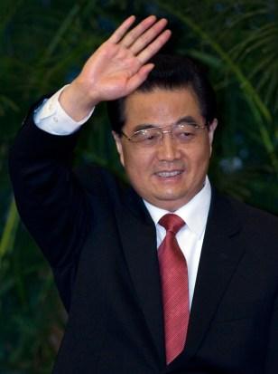 IMAGE: China's Hu