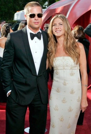 Image: Brad Pitt and Jennifer Aniston