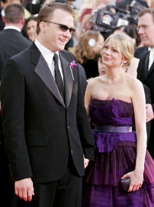 Image: Michelle Williams and Heath Ledger