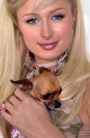 Image: Paris Hilton and Tinkerbell