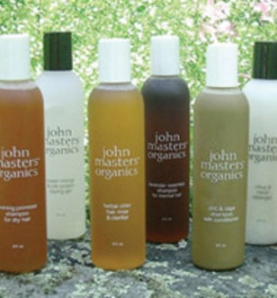 Image: John Masters haircare products