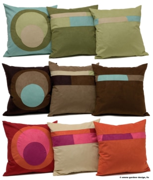 Image: Emma Gardner pillows