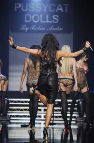 The Pussycat Dolls at L.A. Fashion Week