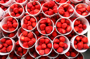 Image: strawberries