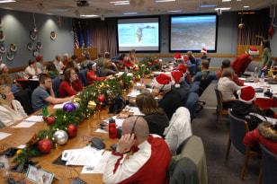 Image: NORAD volunteers
