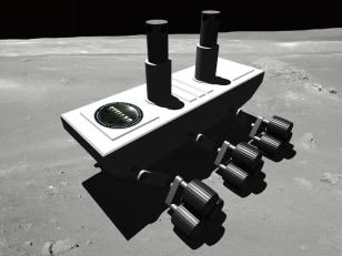 Image: Stellar lander