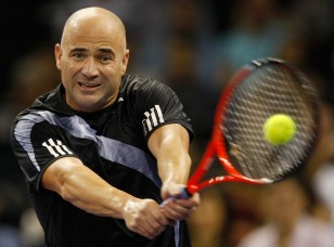 Image: Andre Agassi